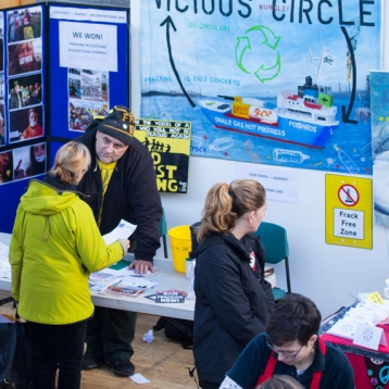 Eco Fair at Out of the Blue Drill Hall, November 2017. Organised by Greenpeace Edinburgh. Photographed by Malena Persson Photography.